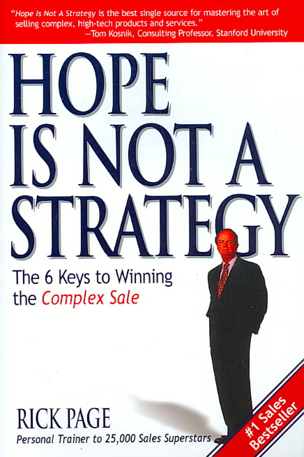 Hope Is Not a Strategy By Page, Rick